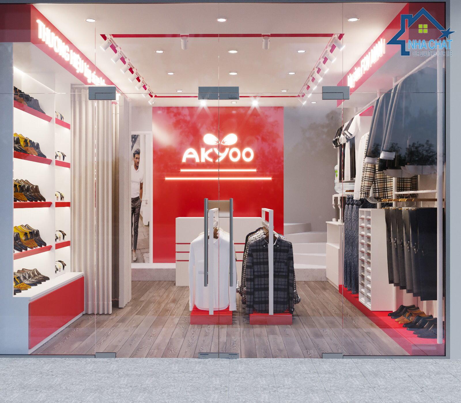 Thiết kế shop thời trang Akyoo