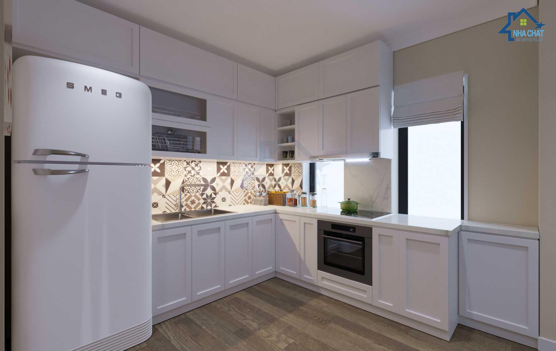 Thiết kế nội thất nhà lô phố Khương Thượng – Cô Mai