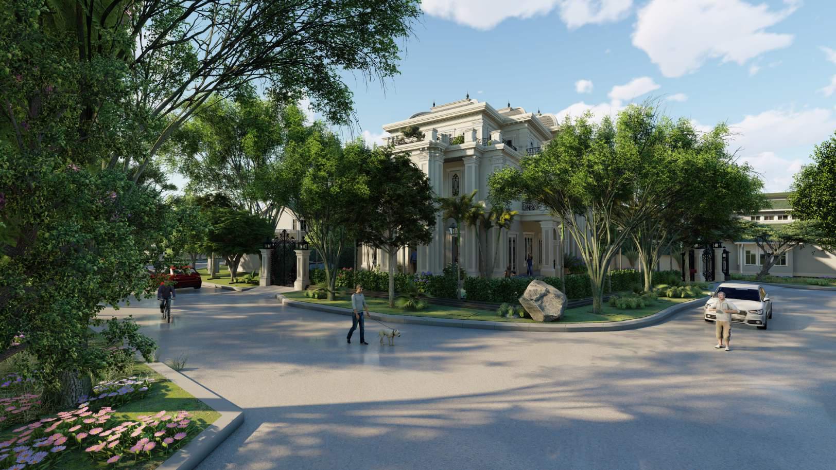 Thiết kế biệt thự vườn Tùng Ecopark – Chú Hải