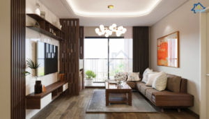 Thiết kế nội thất chung cư 360 Giải Phóng