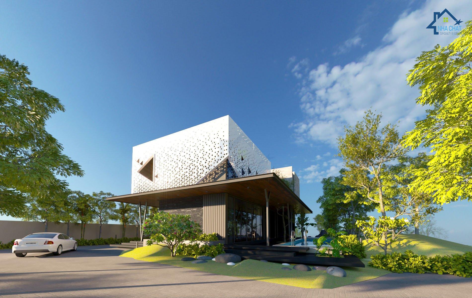 Thiết kế biệt thự hiện đại Nam Định