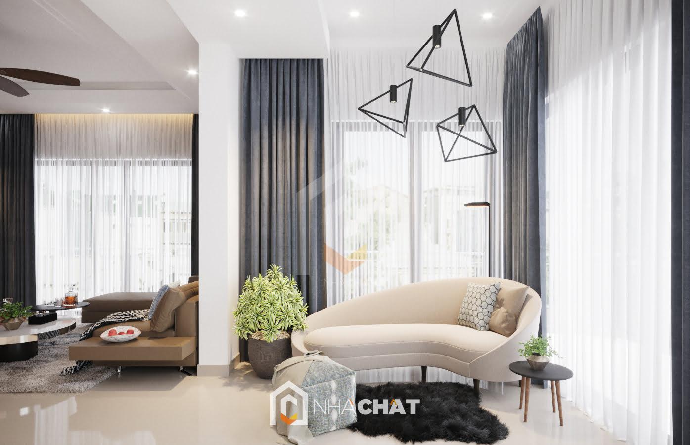 Thiết kế biệt thự hiện đại Mr.Công – Ninh Hiệp